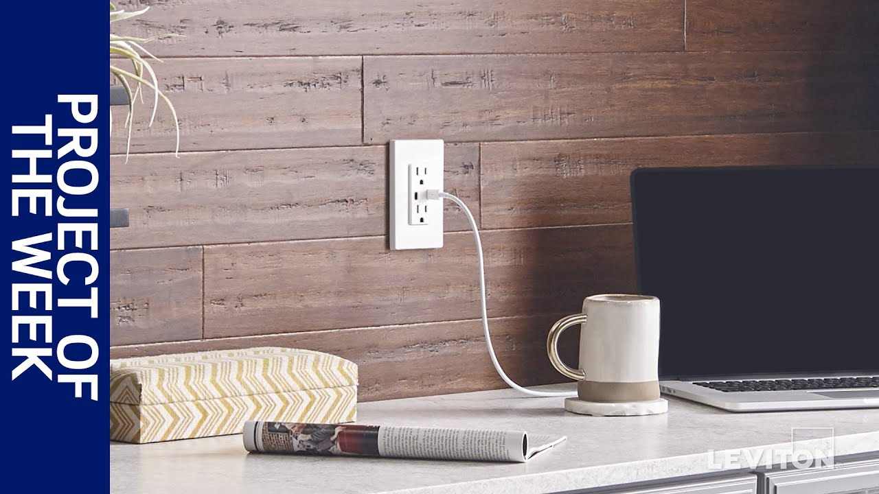 Usb Wall Outlets Chargers Leviton