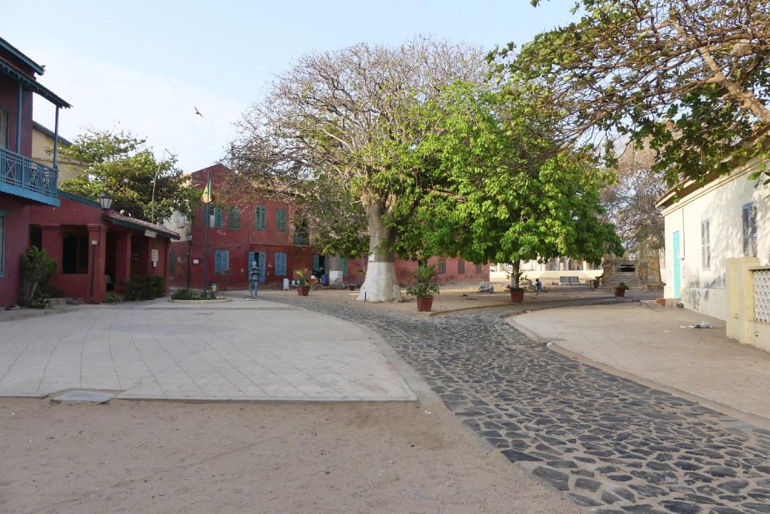 île de Gorée au petit matin