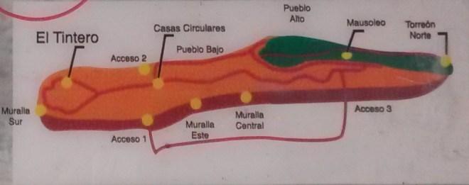 Plan de Kuelap