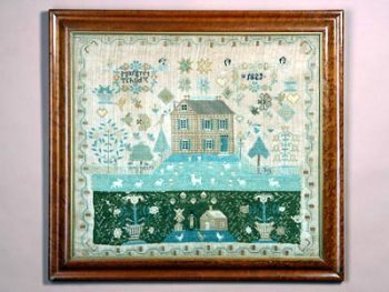 NEEDLEWORK PICTURE BY MARGRET TSHUDY – 1823