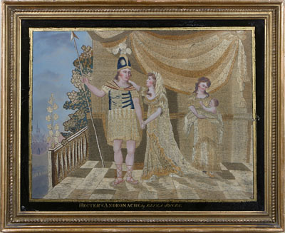 THE PARTING OF HECTER (SIC) AND ANDROMACHE BY ELIZA JONES