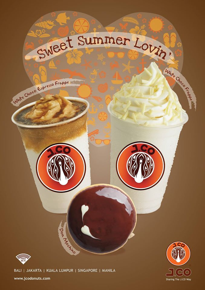 JCO Coffee White Choco Espresso