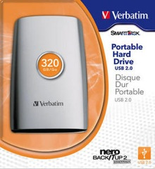 Portable Hard Drive 2.5\\\'\\\' USB 2.0 320GB