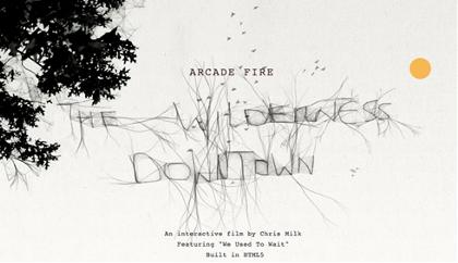 Arca Fire - The Wilderness Downtown
