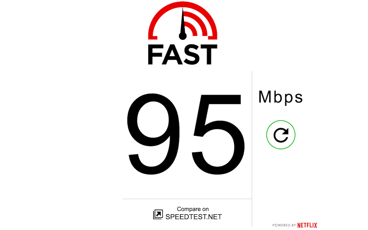 Fast.com - Speed Test by Netflix