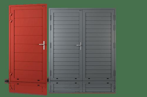 ALUMINIUM PANEL SIDE DOORS | LEWANDOWSKI