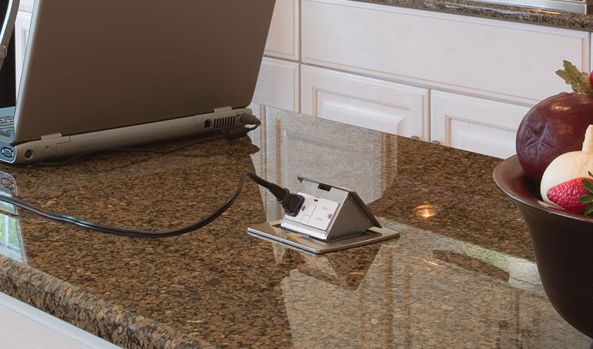 pop up electrical outlet for kitchen island kitchen countertop pop up outlets lew electric fittings 9736