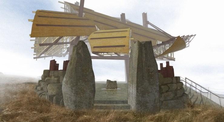Pavilion for Oblivion (2007) gate