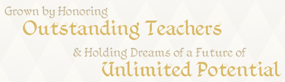 Honoring Outstanding Teachers