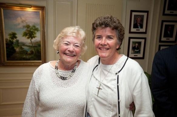 Anne Stahel and Sister Lisa (2012)