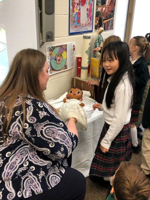 Julie Cummins, St. Patrick Catholic School, Fayetteville