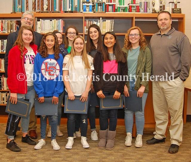 2017 Ovc Eighth Grade Girls Basketball Champions