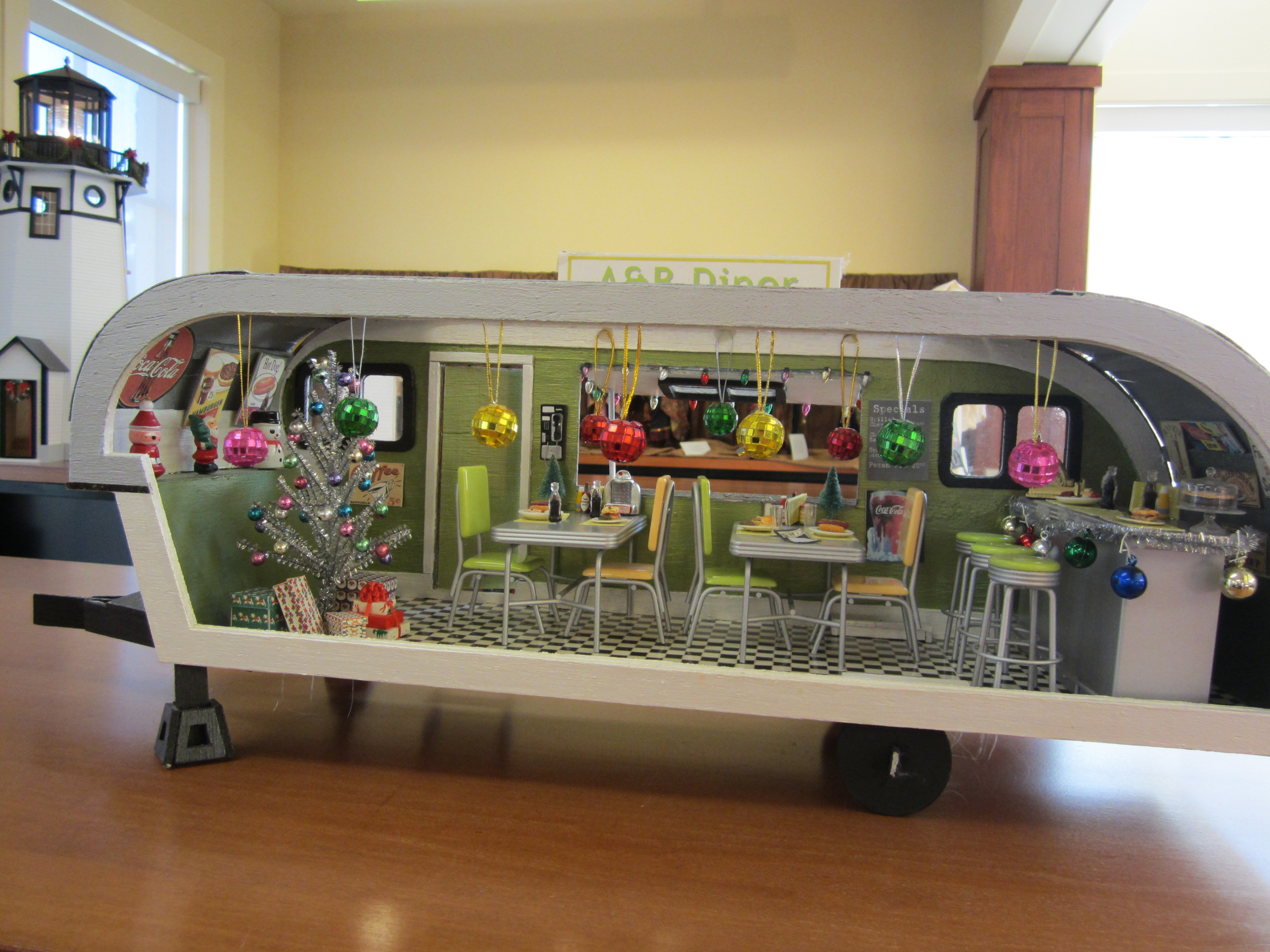 Doll Houses Galore In The Lora Robins Library At Lewis