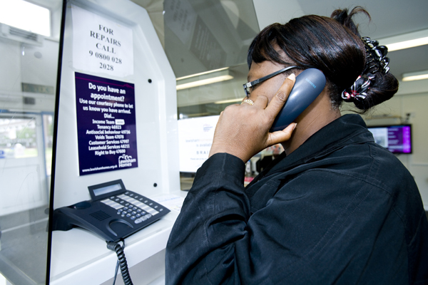 Call centre technical problems on Friday 25 September
