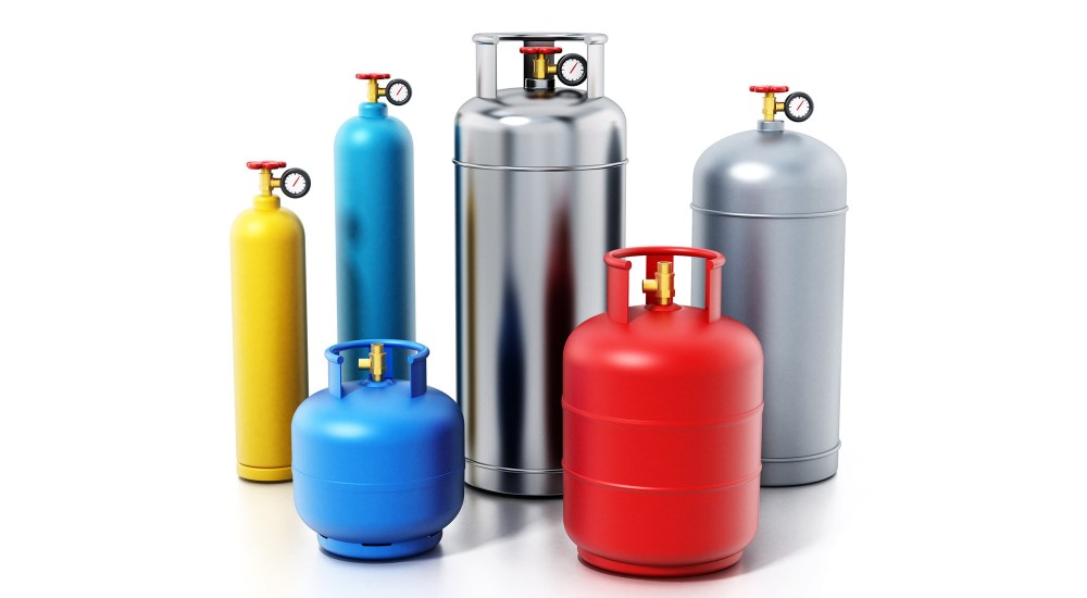 Various gas cyliners