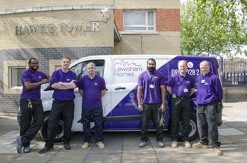 Lewisham Homes Repairs team