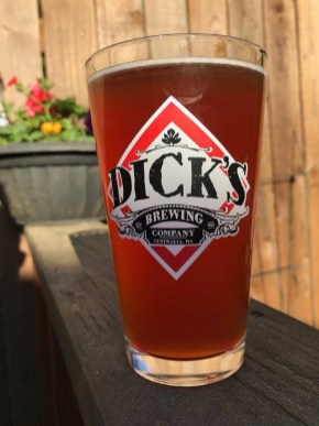 Make a toast to your love. Photo courtesy: Dick's Brewing Company.