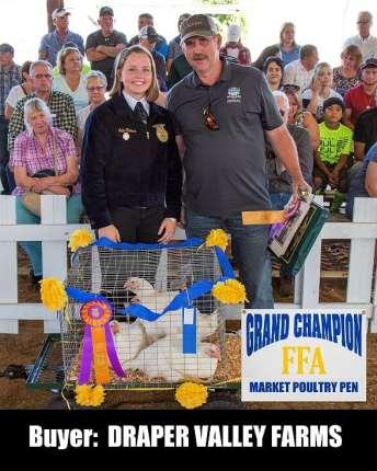 Photo courtesy: Southwest Washington Junior Livestock Sale.