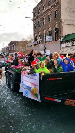 Chehalis Santa Parade