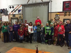 Dick's Brewing Company hosts their annual Merry Dicksmas Ugly Sweater Party on December 7. Bring a new toy for the Lewis County Forgotten Children's Fund. Photo courtesy: Dick's Brewing Company.