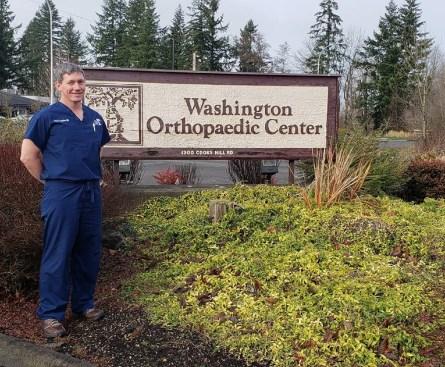 Dr. Bender brings new care options to our area for those with ailments affecting the hand, wrist and elbow. Photo credit: Krysta Carper.