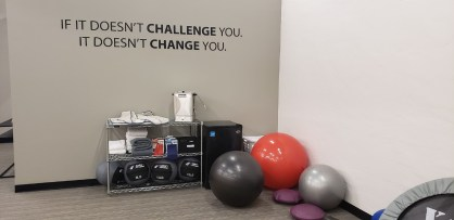 Wall at Freeborn Wellness