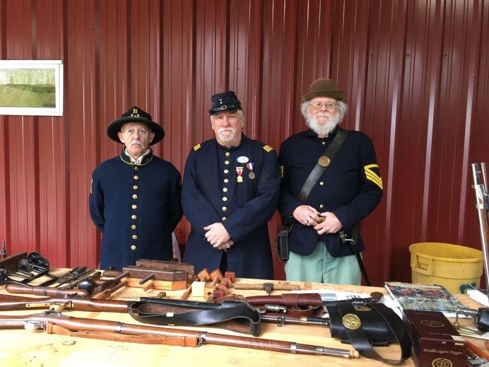 Centralia Christian School Civil War reenact