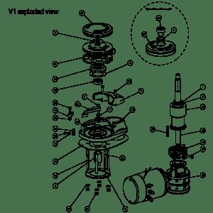 V1 Windlass Spares | Lewmar