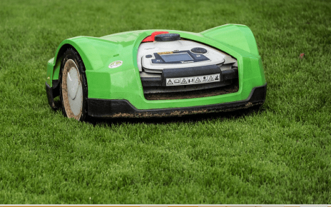 a robotic lawn mower