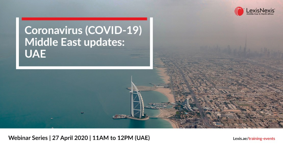 Webinar: Coronavirus (COVID-19) Middle East Updates   Saudi Arabia   22 April 2020 **DUPLICATE**