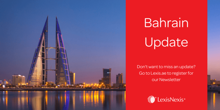 Bahrain:Amendment of Decree Law No. 21/2001 on the Kingdom's Commercial Companies