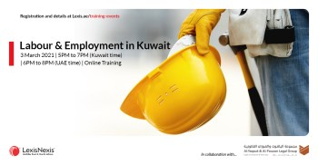 Online Training | Labour & Employment in Kuwait | 3 March 2021 | 5PM to 7PM (Kuwait time)