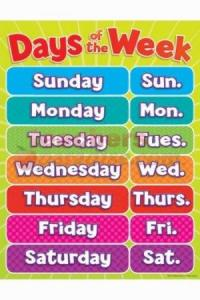 Days of The Week - Elementary English (GiveMeSomeEnglish!!!)