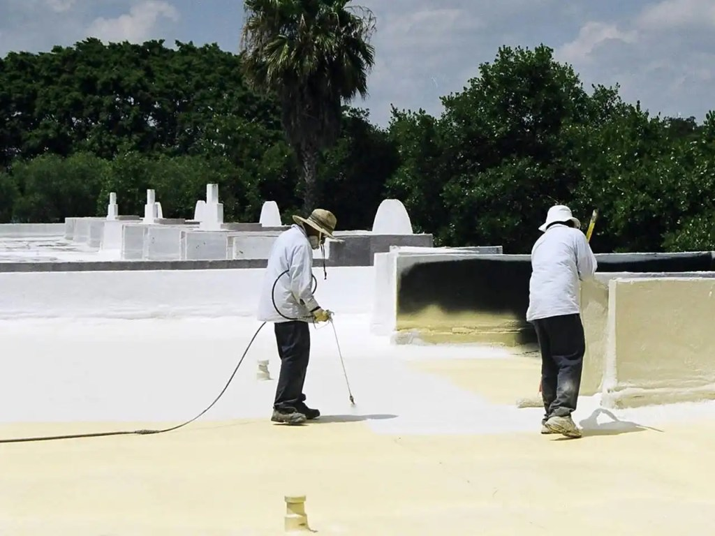 Acrylic Roof Coating - EnergyGuard
