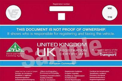 Tłumaczenie dokumentów samochodowych (dokument V5c)