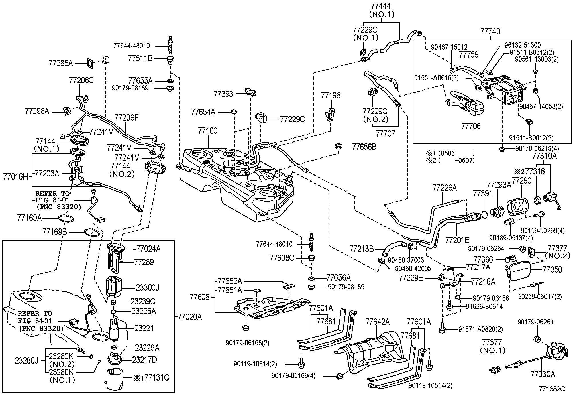 Lexus Gs300 Fuel Tank Amp Tube