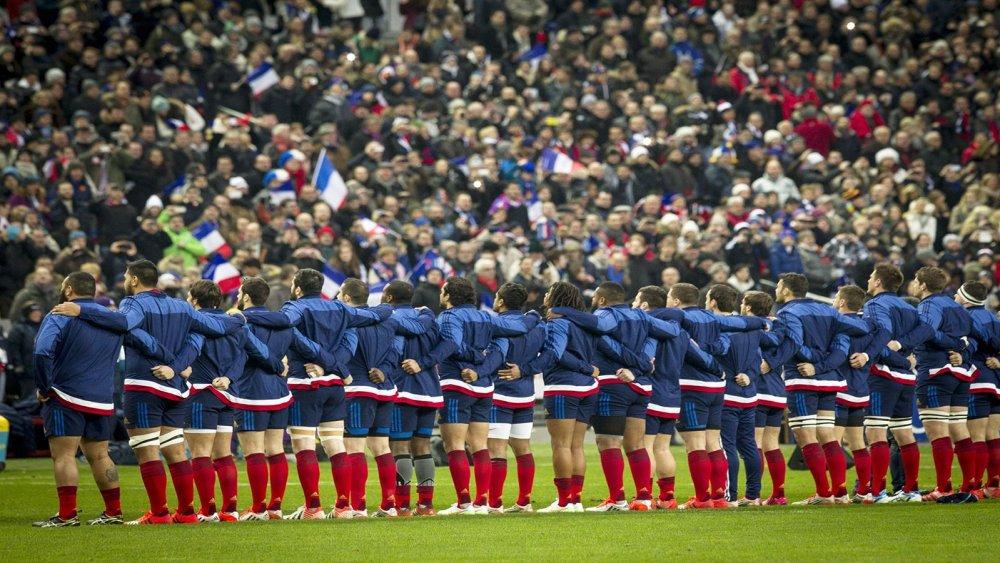 cœur rugby xv de france
