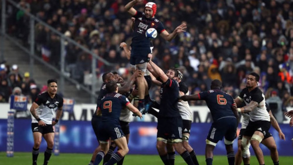 kévin gourdon rugby top 14 france international all blacks résultats classement