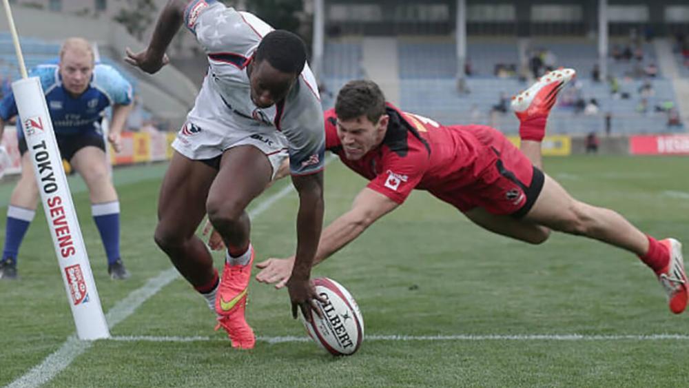 rugby france amérique tournois rugby 7 Dubaï carlin isles falshé à 37 km/h
