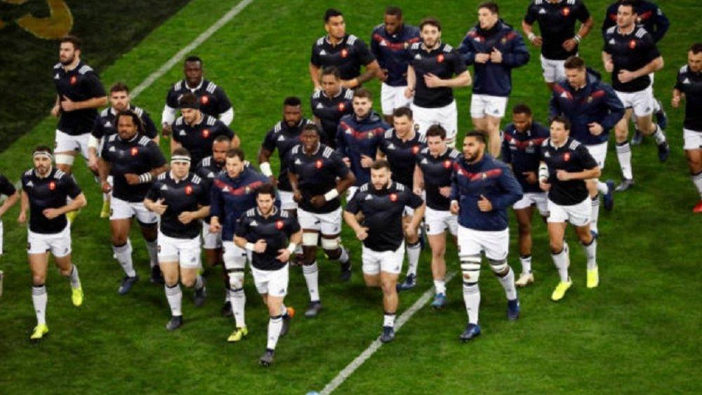 xv de france le groupe pour préparer l'angleterre rugby france xv de départ 15