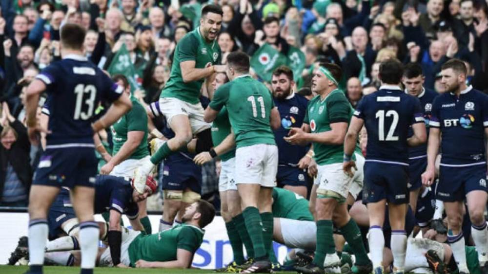 tournoi 6 nations l'irlande remporte le tournoi rugby international xv de départ 15