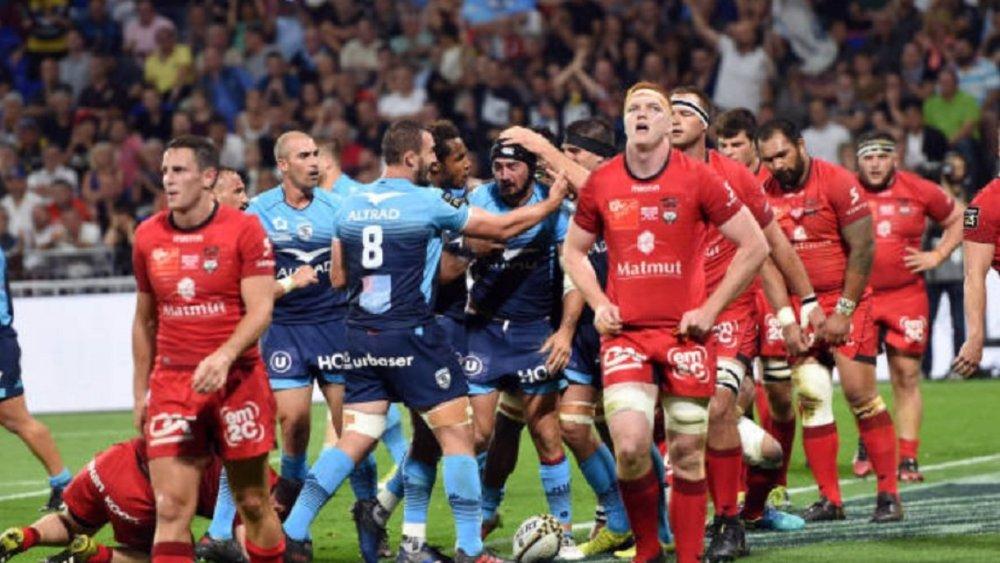top 14 montpellier domine froidement lyon rugby france demi-finale xv de départ 15