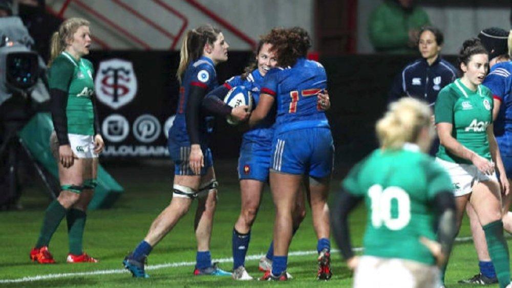 rugby féminin 29% de licenciées en plus france xv de départ 15