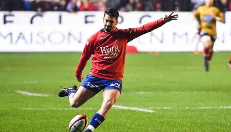 top 14 grenoble perd son ouvreur pourteau rugby france xv de départ 15