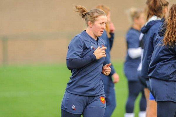 bleues julie duval met un terme à sa carrière rugby france xv de départ 15