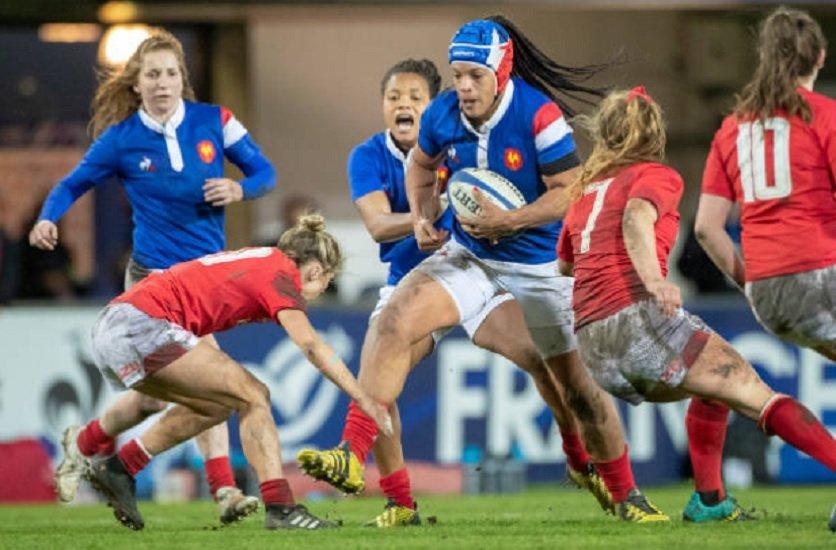bleues des retours avant les super séries rugby international féminin xv de départ 15