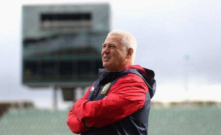 lions warren gatland rempile rugby international xv de départ 15
