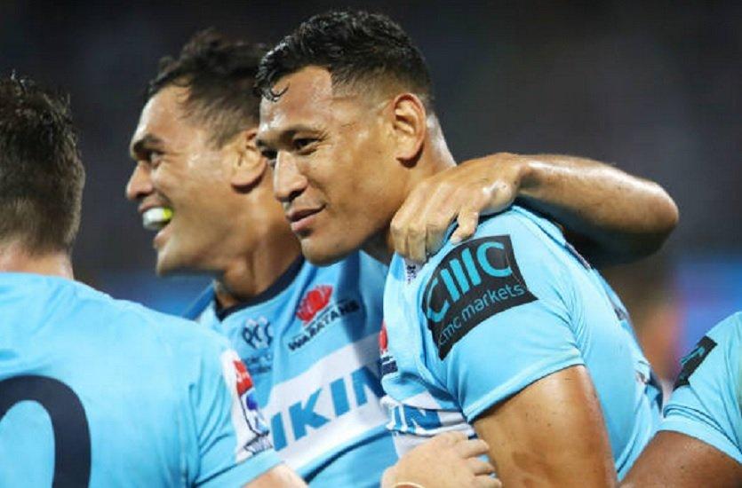 australie folau contre-attaque rugby france xv de départ 15