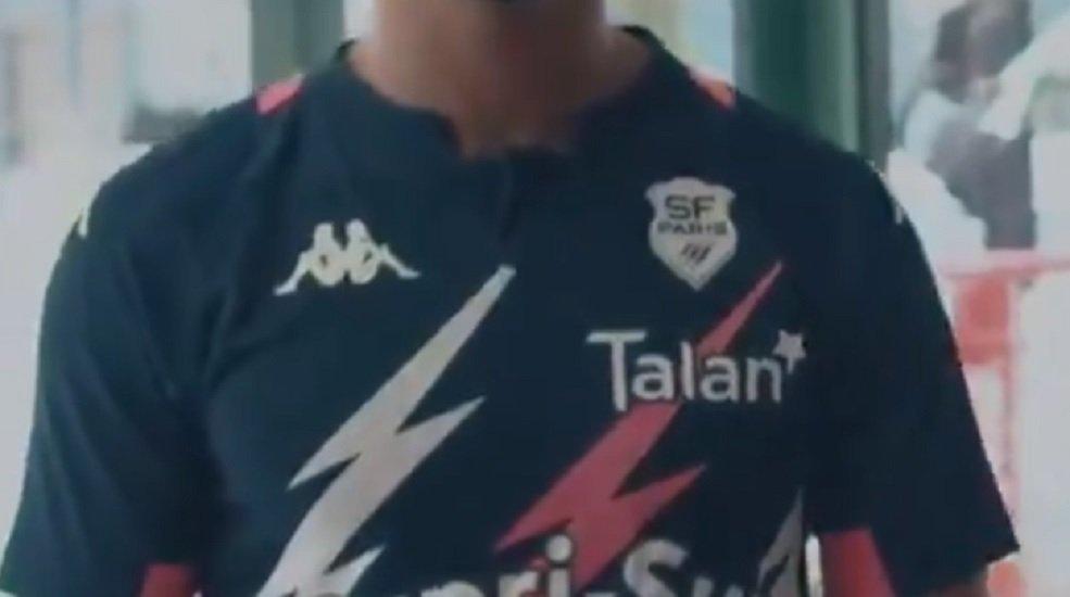 le stade français présente ses nouveaux maillots rugby france xv de départ 15