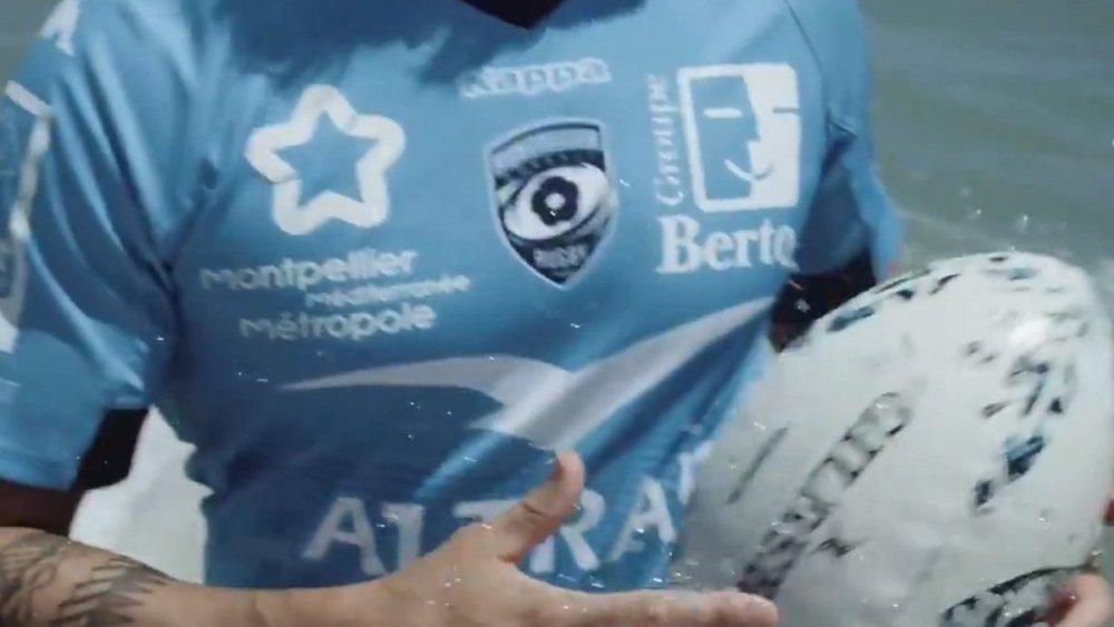 montpellier présente ses nouveaux maillots rugby france xv de départ 15